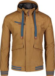 Jachetă ușoară galbenă de primăvară pentru bărbați PARTAKE - NBSJM7165