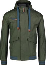 Zöld férfi könnyű tavaszi dzeki/kabát PARTAKE