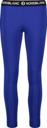 Modré dámske fitness legíny CONTRIVE - NBSPL7186
