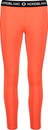 Colanți portocalii de fitness pentru femei CONTRIVE - NBSPL7186