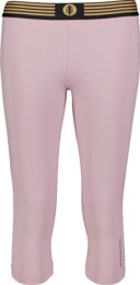 Ružové dámske 3/4 fitness legíny CONJOINT - NBSPL7192