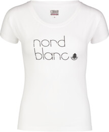 Fehér női pamut póló MODISH