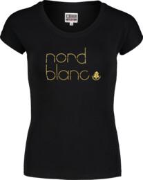 Černé dámské bavlněné tričko MODISH