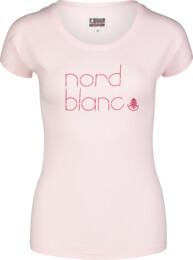 Women's pink cotton t-shirt MODISH