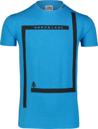 Modré pánske bavlnené tričko ENFRAME - NBSMT7255