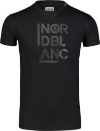 Čierne pánske bavlnené tričko OBEDIENT