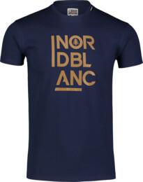 Tricou albastru pentru bărbați OBEDIENT - NBSMT7258