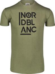 Zelené pánské bavlněné tričko OBEDIENT - NBSMT7258