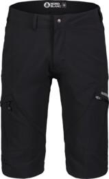 Pantaloni scurți negri outdoor pentru bărbați THOROUGH - NBSPM7126