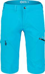 Pantaloni scurți albaștri outdoor pentru bărbați THOROUGH - NBSPM7126