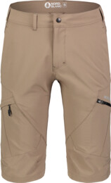 Pantaloni scurți maro outdoor pentru bărbați THOROUGH - NBSPM7126