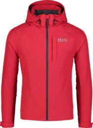 Červená pánská lehká softshellová bunda 2v1 WISE