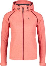 Jachetă ușoară roșie softshell 2 în 1 pentru femei DISPENSE - NBSSL7176
