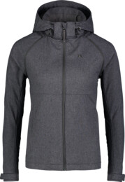 Women's grey light softshell jacket 2in1 DISPENSE - NBSSL7176