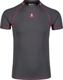 Šedé pánske zimné termo tričko TEPID - NBBMD7085