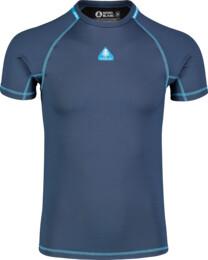 Modré pánske zimné termo tričko TEPID - NBBMD7085