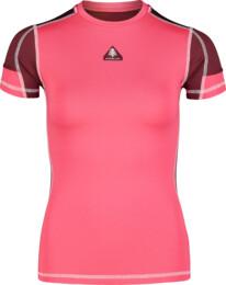 Růžové dámské zimní termo triko FOLD - NBBLD7096