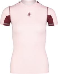 Ružové dámske ľahké termo tričko PLANT