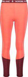 Červené dámske ľahké termo nohavice IMBUE