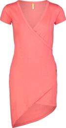 Červené dámské elastické šaty LAVE - NBSLD7239