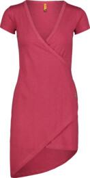 Vínové dámské elastické šaty LAVE - NBSLD7239