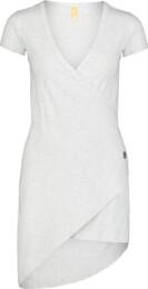Šedé dámské elastické šaty LAVE - NBSLD7239