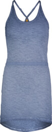 Women's blue dress REPOSE - NBSLD7248