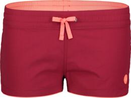 Červené dámské plážové šortky TACIT