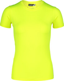 Women's yellow jogging t-shirt VIGOROUS - NBSLF7200