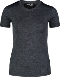 Women's grey jogging t-shirt VIGOROUS - NBSLF7200