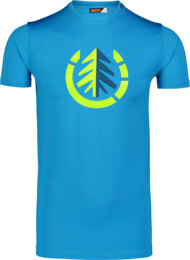 Modré pánské fitness tričko FULFIL - NBSMF7218