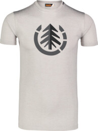 Men's grey fitness t-shirt FULFIL - NBSMF7218