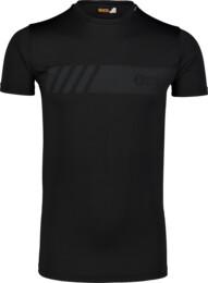 Černé pánské fitness tričko ELUSIVE