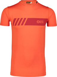 Men's orange fitness t-shirt ELUSIVE - NBSMF7222