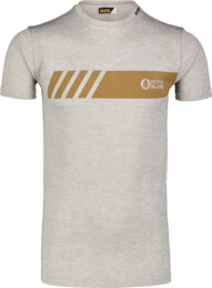 Men's grey fitness t-shirt ELUSIVE - NBSMF7222