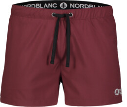 Men's wine red jogging shorts STALWART - NBSPM7225