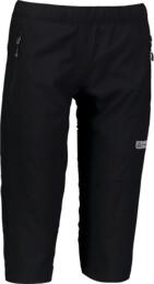 Damen Ultraleichte- Outdoor- Shorts schwarz IMMUNE