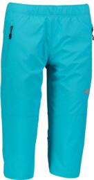 Modré dámské ultralehké outdoorové kraťasy IMMUNE