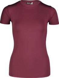Fialové dámske fitness tričko UNIFY - NBSLF7203
