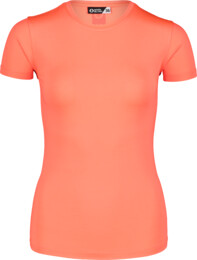 Women's orange fitness t-shirt UNIFY - NBSLF7203