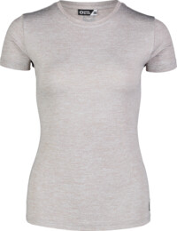 Women's grey fitness t-shirt UNIFY - NBSLF7203