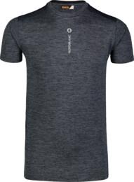 Šedé pánske tričko na behanie IMPART - NBSMF7223