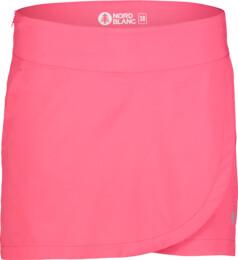 Růžová dámská outdoorová šortko-sukně WARRANTY