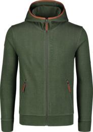 Zelená pánska mikina THRIFT - NBSMS7276