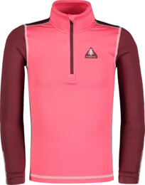 Kid's pink winter baselayer top WINCE - NBBKD7104S