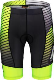Žluté pánské cyklistické šortky STREAKY - NBSPM7196