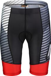 Červené pánské cyklistické šortky STREAKY - NBSPM7196
