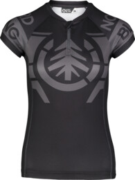 Women's grey bike jersey DAZZLE - NBSLF7197
