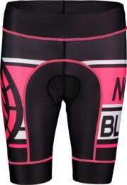 Čierne dámske cyklistické šortky SQUASHY