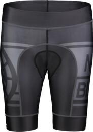 Šedé dámske cyklistické šortky SQUASHY - NBSPL7198